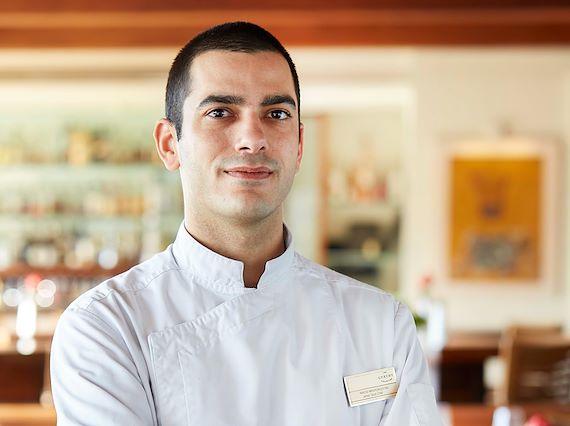 Chef de Cuisine Nikos Mavrokostas