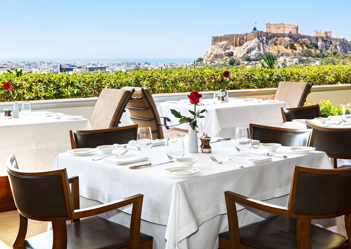 GB Roof Garden Acropolis View Lunch