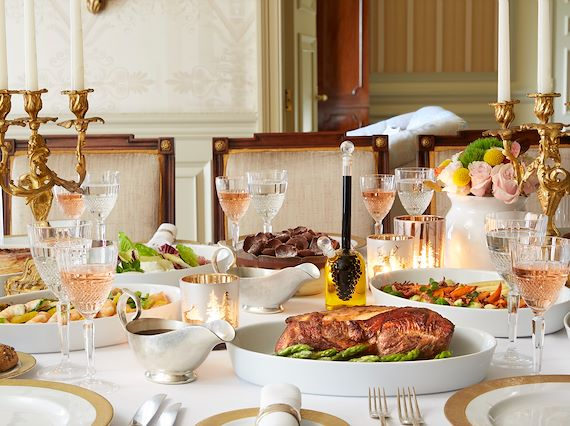 Let us do the cooking by Hotel Grande Bretagne Athens